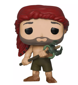 Funko POP Movies Cast Away Chuck Noland Spear with Crab  in stock