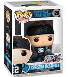 Funko Pop! Football NFL Christian McCaffrey (Panthers) damaged box
