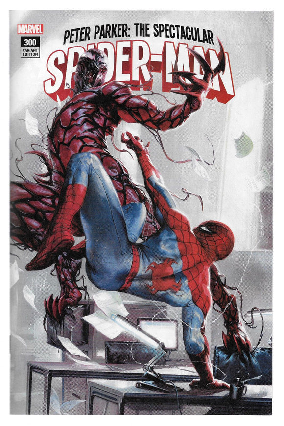 Peter Parker Spectacular Spider-Man #300 Dellotto Variant Vf+/nm+ Rare 3 000 Comic