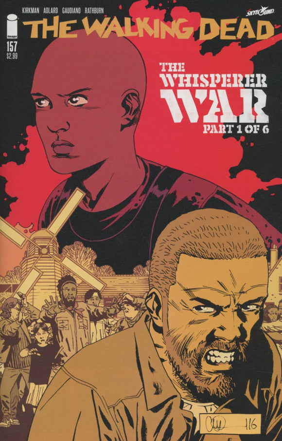 Walking Dead #157 A Whisperer War Part 1 Kirkman Adlard Stewart Vf+/nm+ 1St Print Comic