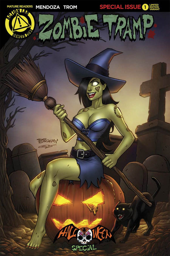 Zombie Tramp Halloween Special #1 Bill McKay variant NM