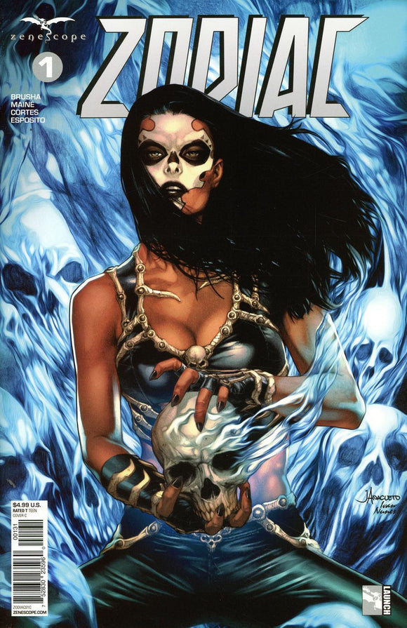 Zodiac #1 C Grimm Fairy Tales Presents Anacleto Variant Nm Comic