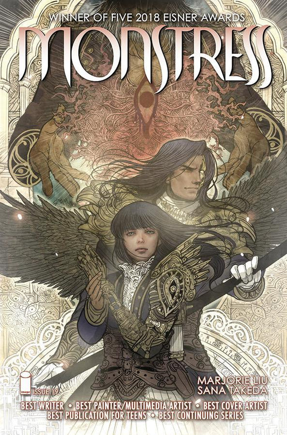 Monstress #19 Sana Takeda Vf+/nm+ Comic