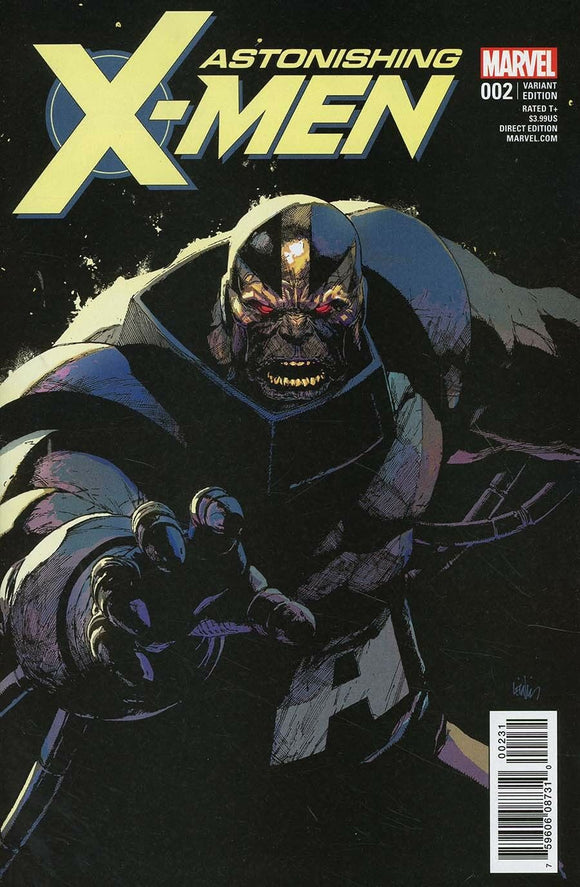 Astonishing X-Men #2 D Incentive Leinil Francis Yu Villain Variant VF+/NM+