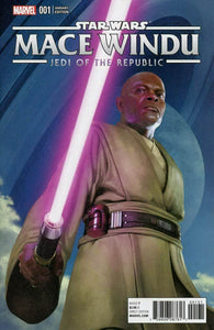 Star Wars Jedi Of The Republic Mace Windu #1 E Rahzzah Variant NM/NM+