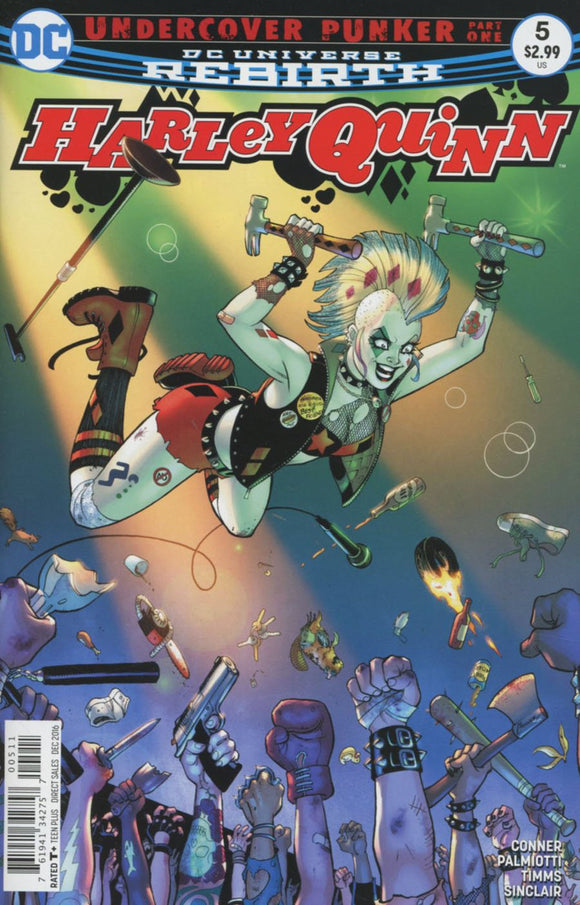Harley Quinn #5 Amanda Conner Vf+/nm+ Comic