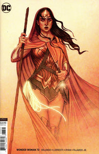 Wonder Woman #73 B Jenny Frison Variant Vf+/nm+ Comic