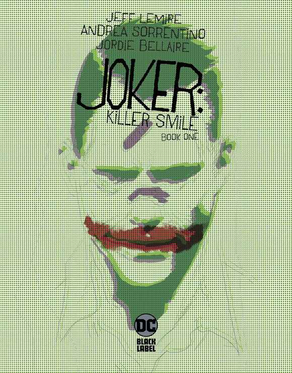Joker Killer Smile #1 A Regular Andrea Sorrentino  VF+/NM+