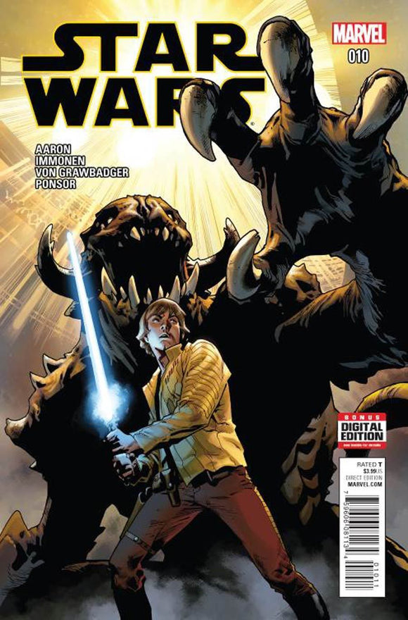 Star Wars #10 A 1st print Stuart Immonen Cover VF+/NM+