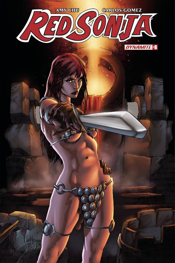 Red Sonja #8 E Mel Rubi Variant Vf+/nm+ Comic