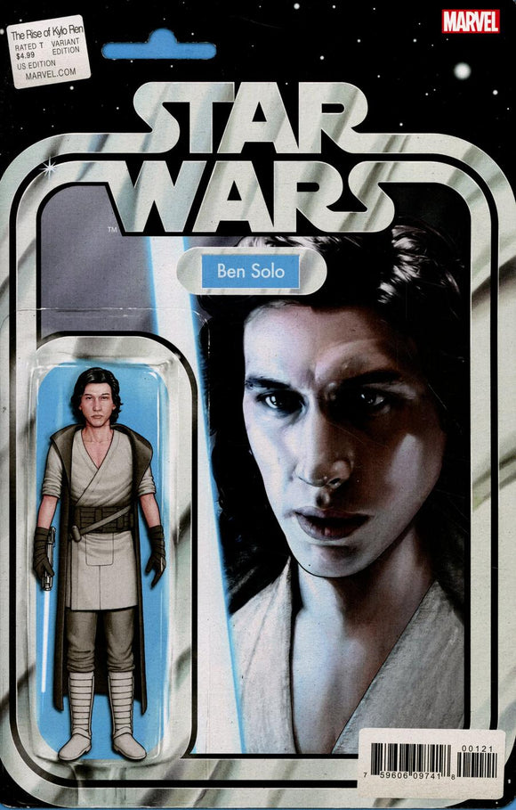 Star Wars Rise of Kylo Ren #1 B John Tyler Christopher Variant  VF+/NM+