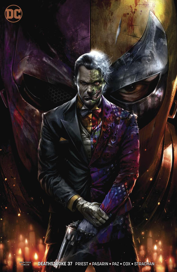 Deathstroke #37 B Francesco Mattina Variant 1St Print Vf+/nm+ Comic