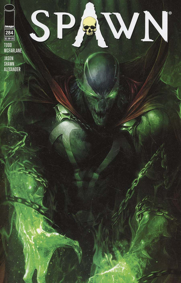 SPAWN #284 A Francesco Mattina 1st print  VF+/NM+ 2018