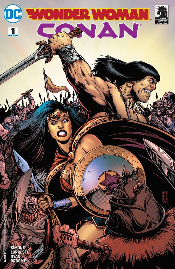 Wonder Woman Conan #1A 2017 Darick Robertson VF+/NM+
