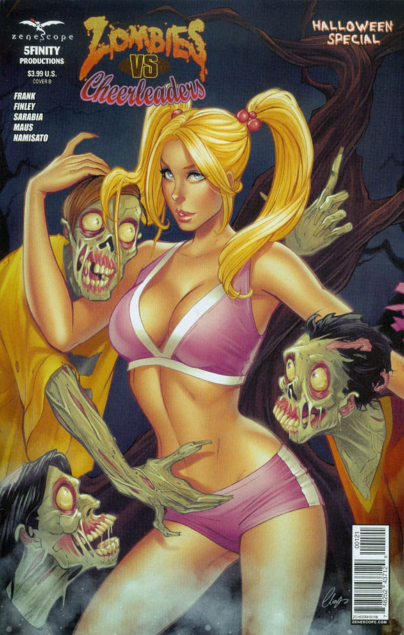 Zombies Vs Cheerleaders Halloween Special #1 B Chatzoudis Variant NM