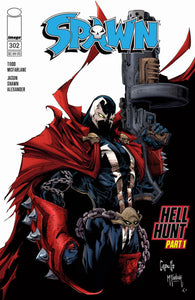 Spawn #302 A Capullo & McFarlane  VF+/NM+ 1st print