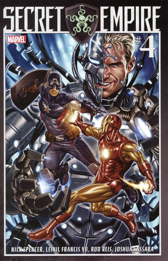 SECRET EMPIRE #4 A Regular Mark Brooks Cover VF+/NM+