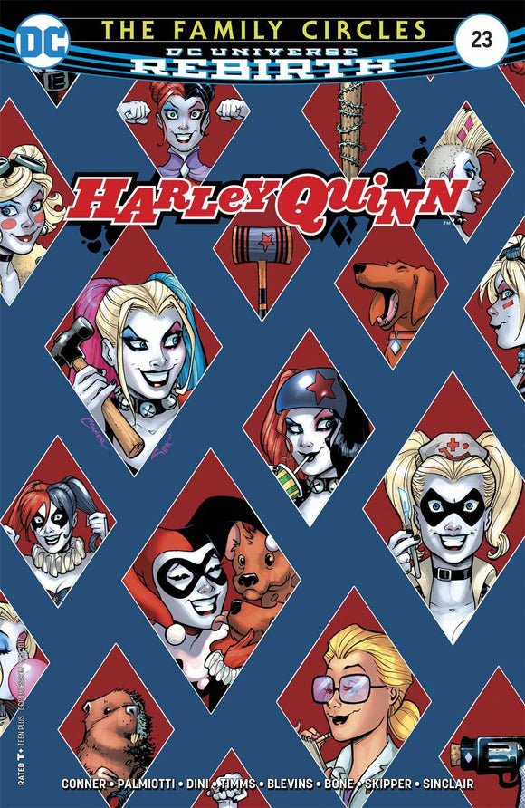 Harley Quinn #23 A Amanda Conner Vf+/nm+ Comic