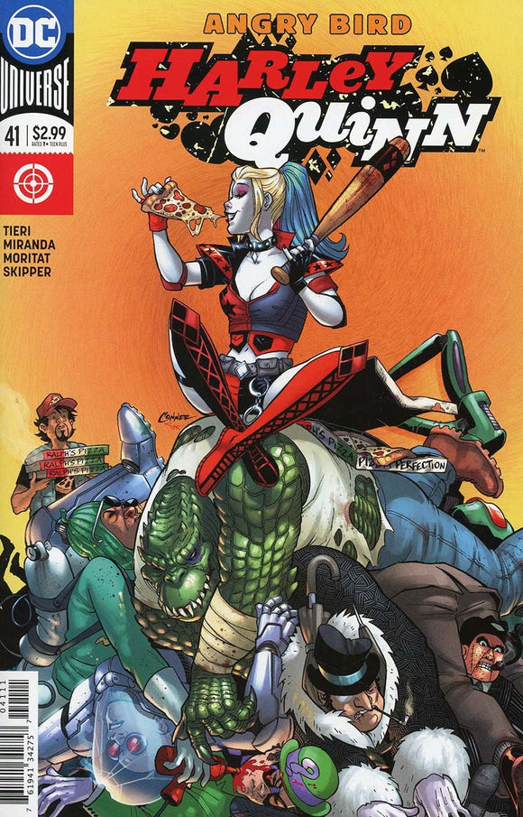 Harley Quinn #41 A Amanda Conner Vf+/nm+ Comic
