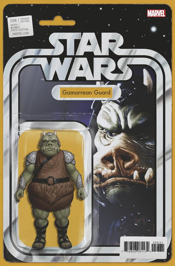 Star Wars #56 B John Tyler Christopher Variant Gamorrean Guard Vf+/nm+ Comic