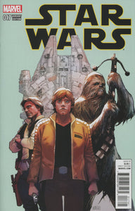 Star Wars Vol4 #17 C Yu variant VF+/NM+ 1st print