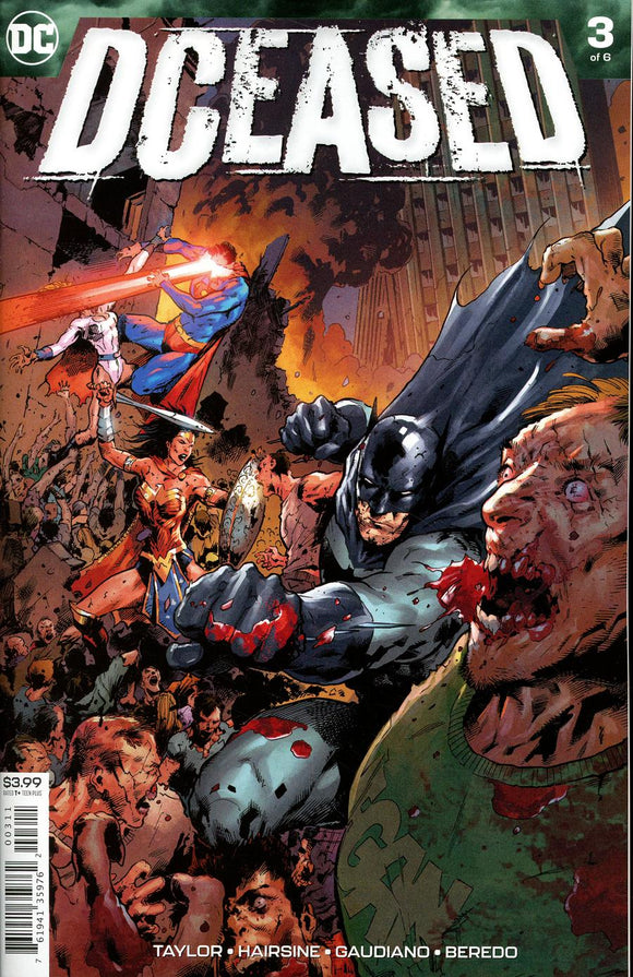 Dceased #3 A Trevor Hairsine VF+/NM+