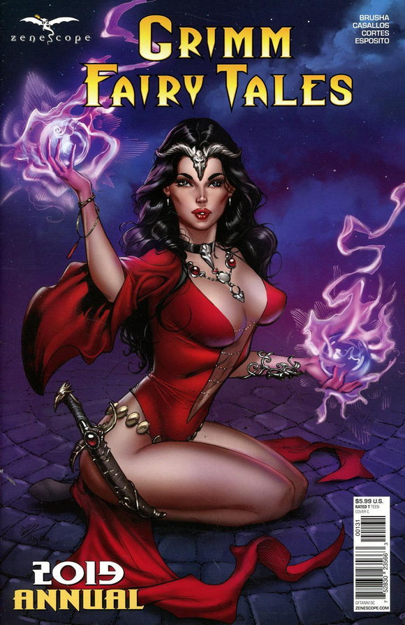 Grimm Fairy Tales 2019 Annual #1 C Dooney Variant Vf+/nm Comic