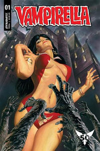 Vampirella vol 8 #1 B Alex Ross Variant 1st print VF+/NM