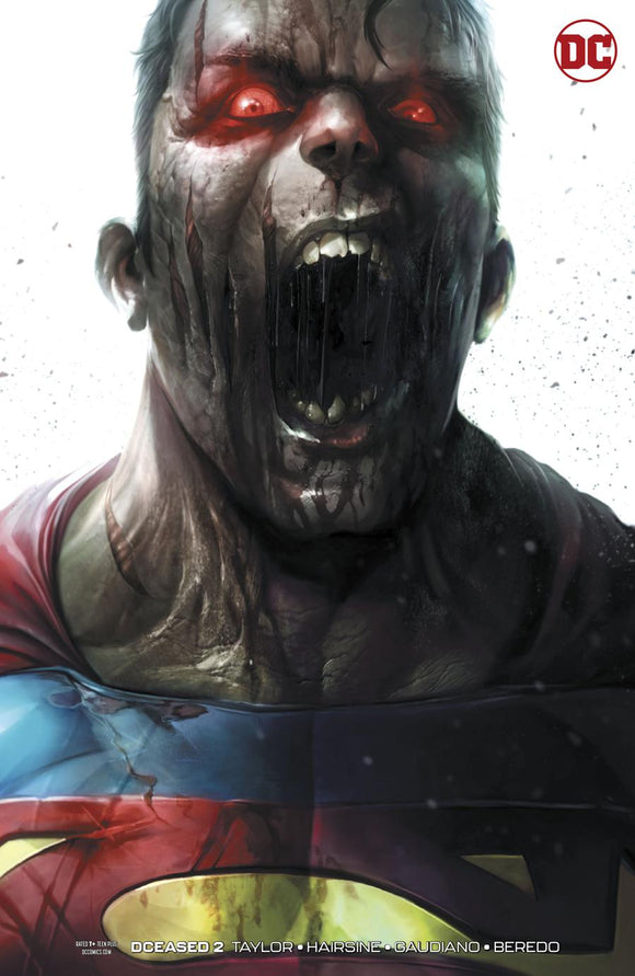 DCeased #2 B Francesco Mattina variant VF+/NM+