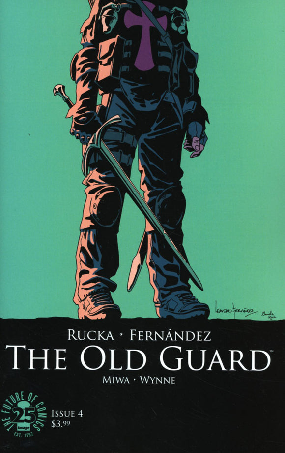 Old Guard #4 A Leandro Fernandez VF+/NM+