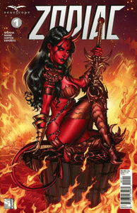 Zodiac #1 D Grimm Fairy Tales Presents Dooney Variant Nm Comic