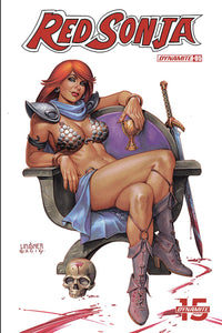 Red Sonja Vol 8 #5 B Joseph Michael Linsner Variant VF+/NM+