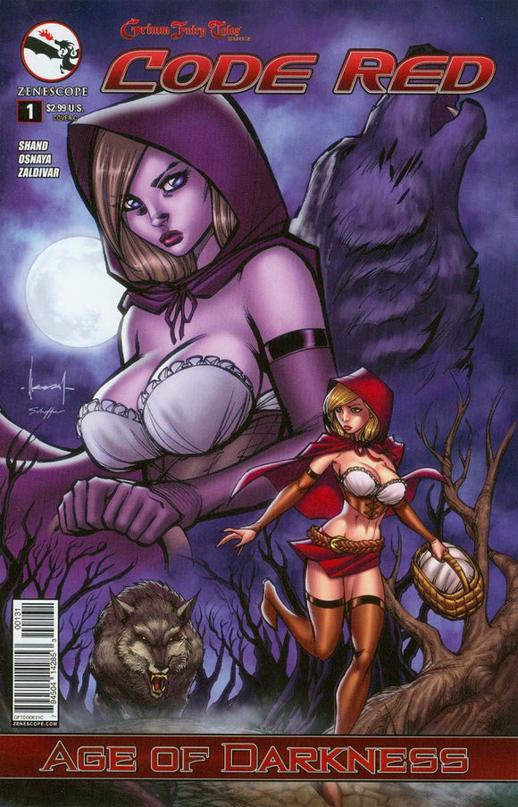 Grimm Fairy Tales Code Red #1 C Ale Garza Zenescope VF+/NM+