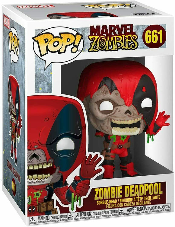 Funko Pop! Marvel Zombies Deadpool in stock