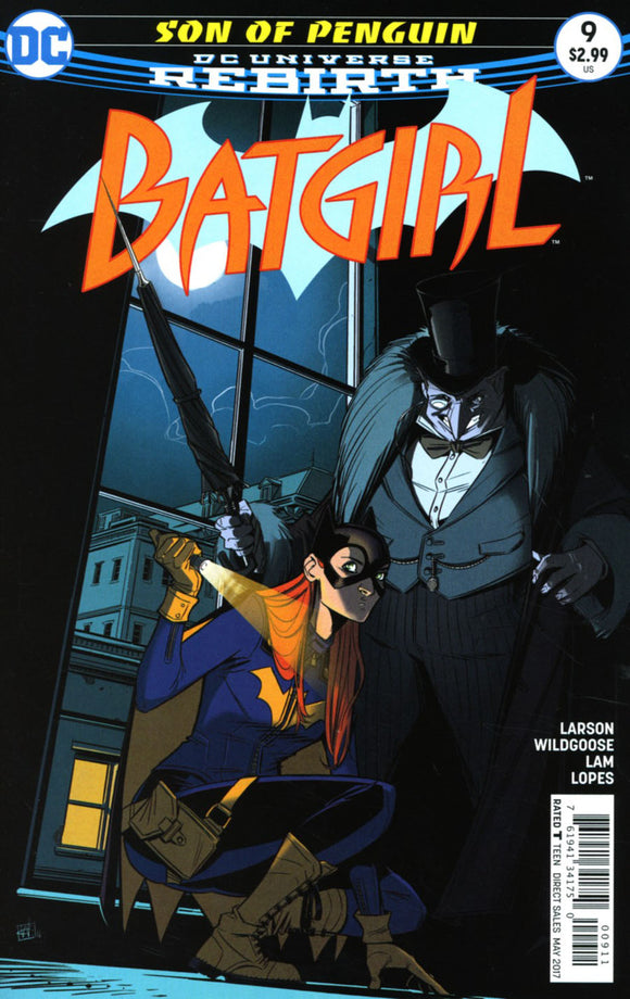 Batgirl Vol 5 #9 A Chris Wildgoose VF+/NM+ 1st print