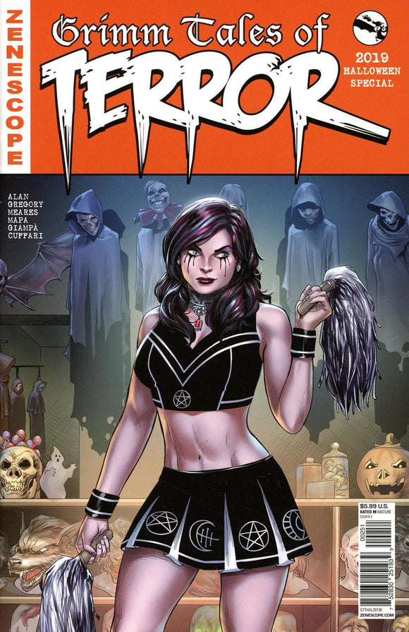 Grimm Tales of Terror 2019 Halloween #1 E Coccolo NM