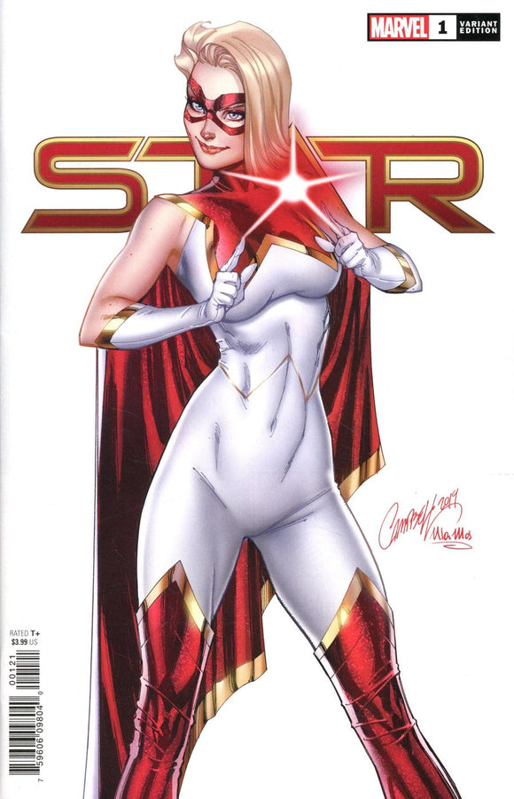STAR #1 B J Scott Campbell 2020 Variant VF+/NM+