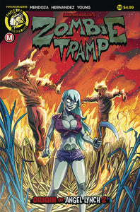 Zombie Tramp #58 A Winston Young VF+/NM+