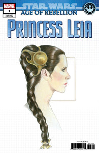 Star Wars Age Of Rebellion Princess Leia #1 Concept Variant Nm Comic