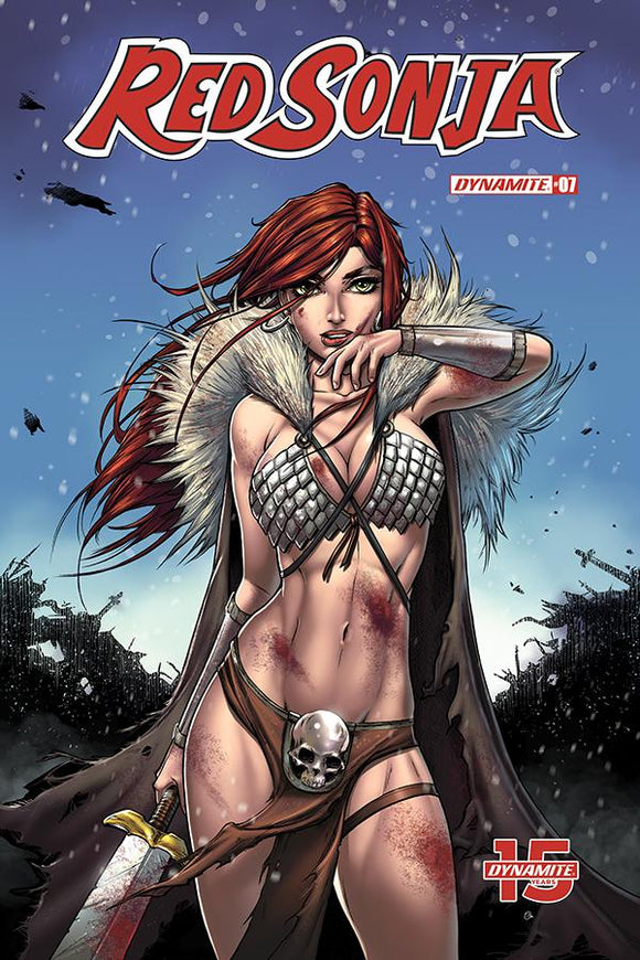 Red Sonja #7 D Collette Turner Variant VF+/NM+