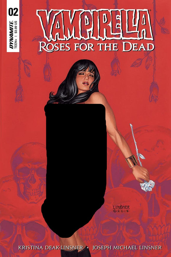 Vampirella Roses For The Dead #2 A Joseph Linsner Vf+/nm+ Comic