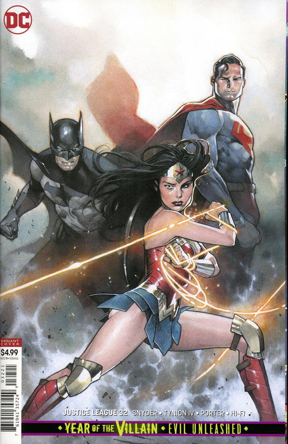 Justice League #32 B Olivier Copiel Coipel Variant VF+/NM+