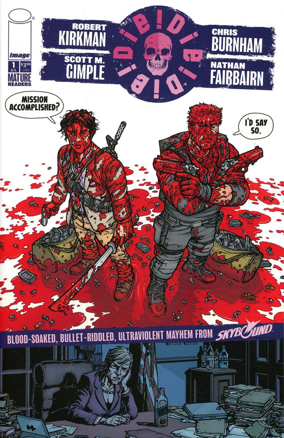 Die Die Die #1 D Burnham & Fairbairn Say So variant VF+/NM+