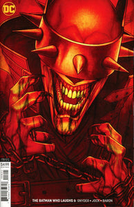 BATMAN Who Laughs #6 B Jenny Frison Variant 1st print NM