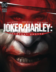 Joker Harley Criminal Sanity #1 A Mattina VF+/NM+ 1st print