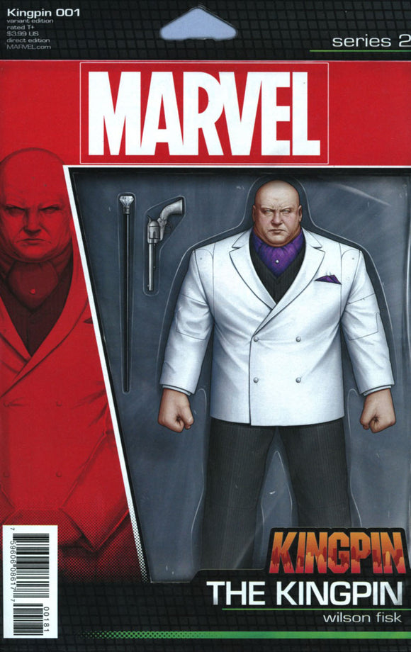 Kingpin #1 E John Tyler Christopher Variant VF+/NM+