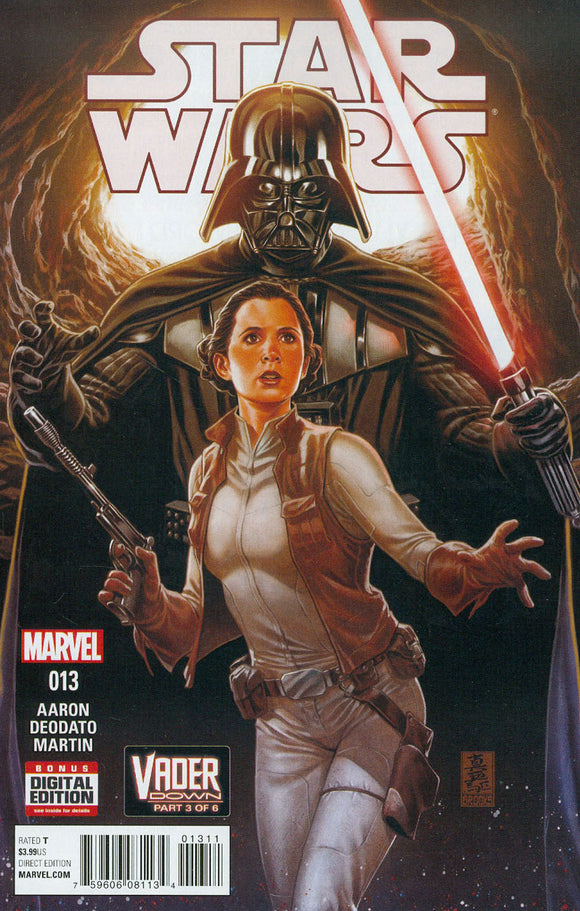 Star Wars #13 A Mark Brooks Variant VF+/NM+ 1st Ptg