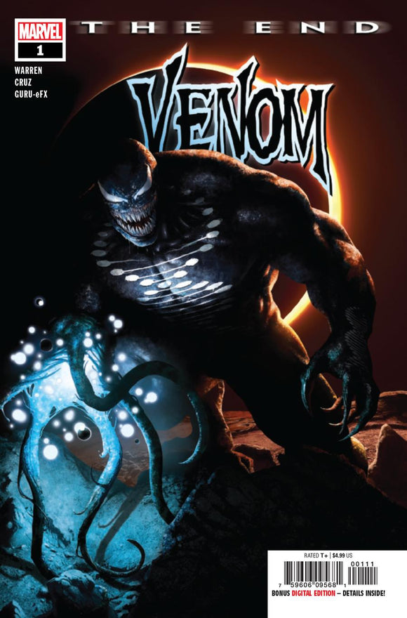 Venom The End One Shot #1 A Rahzzah  VF+/NM+