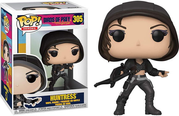 FUNKO POP! HEROES Birds of Prey HUNTRESS #305