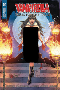 Vampirella #4 B Roses of the Dead Tucci Variant NM